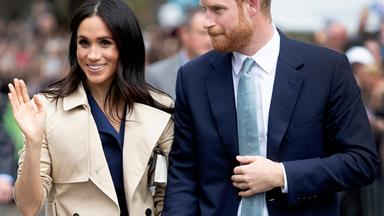 Prince Harry and Duchess Meghan announce they're stepping back as senior royals
