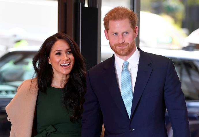Meghan and Harry dropped a royal bombshell this week when they revealed they were stepping back from their roles as senior royals. *(Image: Getty)*