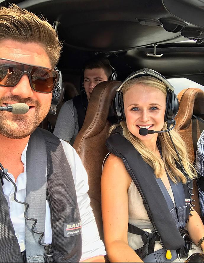 The Shorty fave had no idea her helicopter ride was a set-up for a proposal.