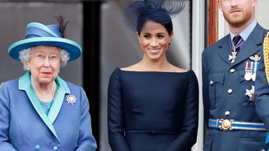 The Queen issues a rare statement about the Sussexes, confirming they will no longer be full-time royals