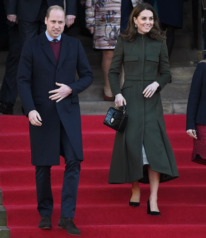 The Cambridges took a trip to Bradford for their first join engagement of 2020. *(Image: Getty)*