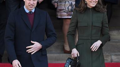 The cute moment Prince William mistakes a photo of himself for Princess Charlotte