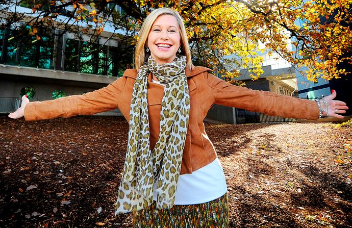 """""""I'm still here!"""" Cancer sufferer Olivia refuses to discuss her life expectancy."""