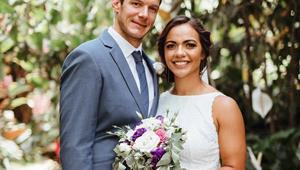 Sevens star Stacey Waaka's heavenly Waikato wedding