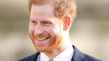 Prince Harry was asked about his 'future' in his first appearance since the royal exit announcement