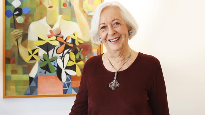 Diane McKegg Dame Louise Henderson art