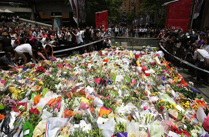 The Lindt Café siege rocked the nation, floral tributes to the victims filled Martin Place.