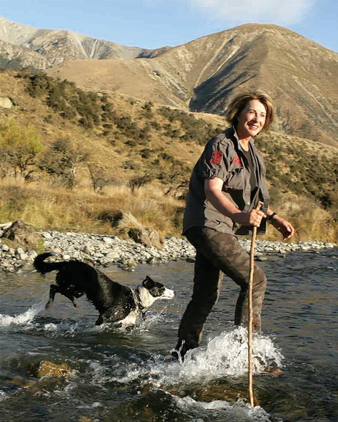 Chrissie impressed the locals with her tenacity during a decade farming at Castle Hill.