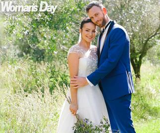 It's love-all for tennis star Michael Venus as he marries the mother of his child