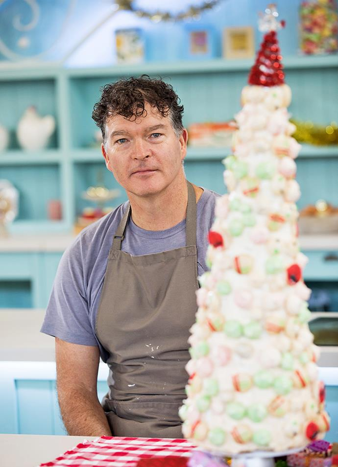Trev's award-winning meringue and macaron creation was a showstopper.
