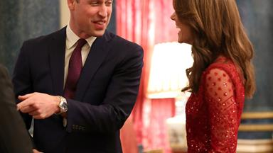 Prince William reminisces about his proposal to Duchess Catherine in a speech at Buckingham Palace