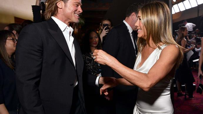 Will Brad Pitt and Jen Aniston get back together? We asked a body language expert to analyse their interactions