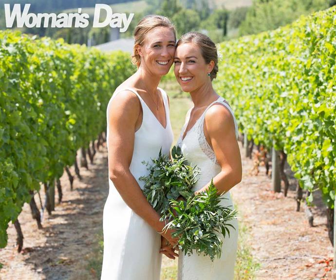 'I'm the luckiest girl in the world': Olympic rower Emma Twigg's gorgeous vineyard wedding
