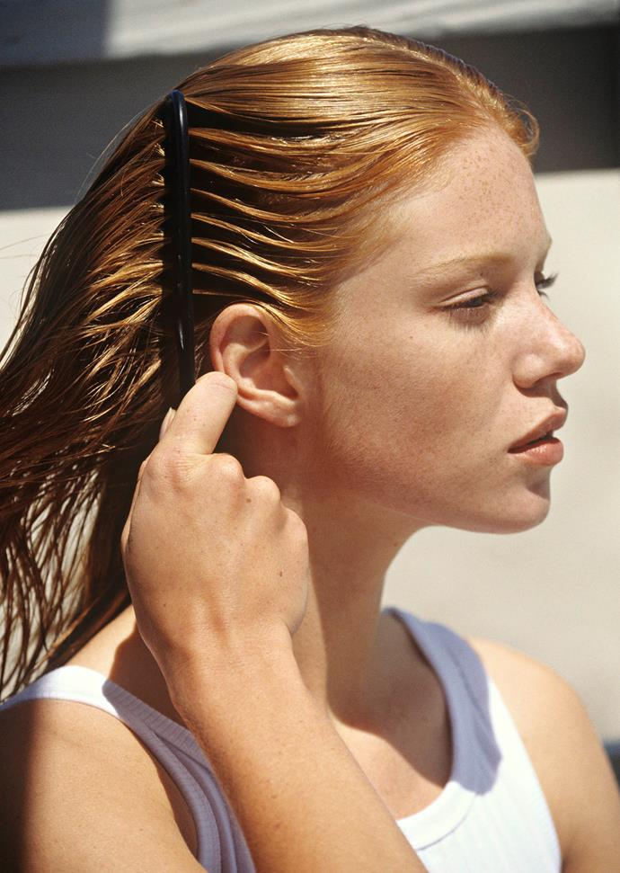Try and get a regular trim every six weeks for healthy and strong hair. *(Image: Getty)*