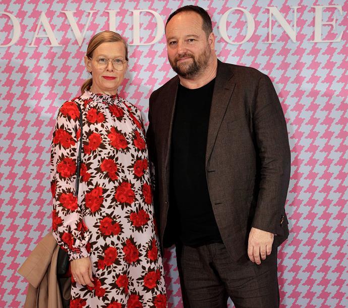 Kate and husband Wayne Conway.