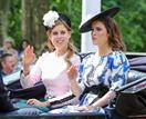 Princesses Beatrice and Eugenie could be stepping up to fill Prince Harry and Duchess Meghan's roles