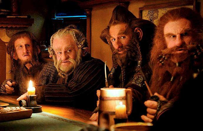 Mark appeared in the popular Hobbit series of films by Sir Peter Jackson.