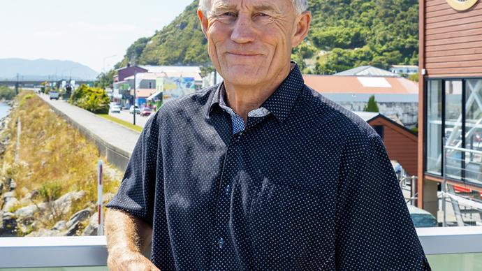 Former West Coast mayor Tony Kokshoorn