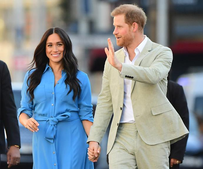 The Palace denies claims The Sussexes are working with Kim Kardashian's endorsement company