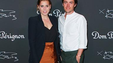 Princess Beatrice is reportedly not happy about having to delay announcing her wedding date