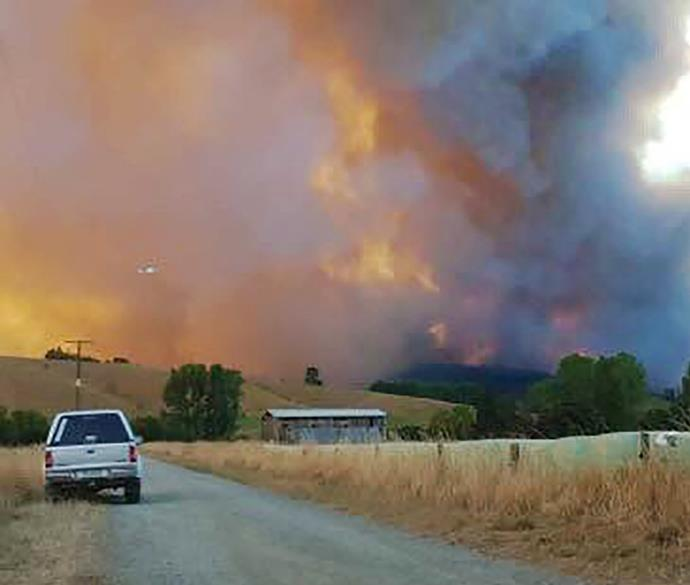 Scary images from the 2019 fires.