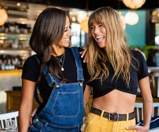 The Bachelorette NZ Lesina Nakhid-Schuster and Lily McManus