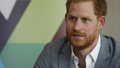 Prince Harry says he does not regret stepping back as a senior member of the Royal Family