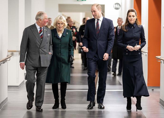 It's not often we see more than four royals out in force unless for special occasions. *(Image: Getty)*