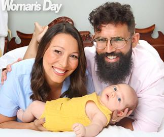 Melissa Chan-Green introduces her adorable son Busby and shares their 'spooky' royal connection