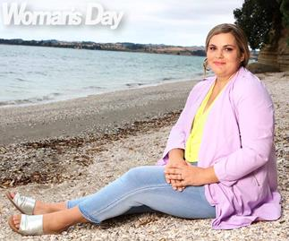 This Kiwi mum lost a staggering 65kg in a year but says she will always miss her old size