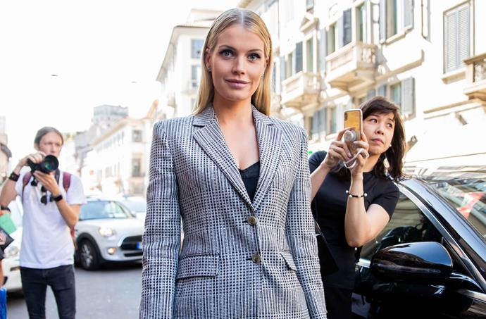 Lady Kitty Spencer is reportedly converting to Judaism ahead of her marriage to millionaire tycoon Michael Lewis. *(Image: Getty)*