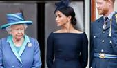The Queen tells Prince Harry and Duchess Meghan they must ditch their 'Sussex Royal' brand