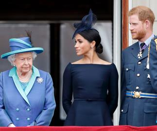 the queen meghan markle prince harry
