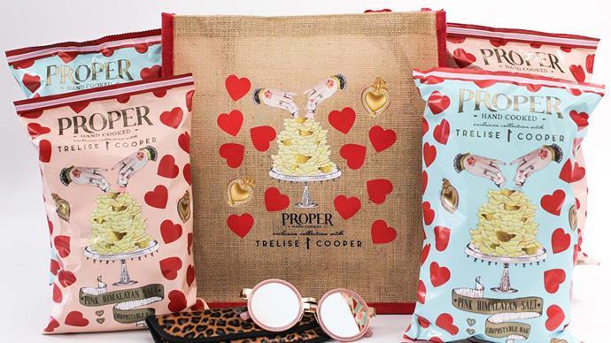 Win a Trelise Cooper and Proper Crisps goodie bag