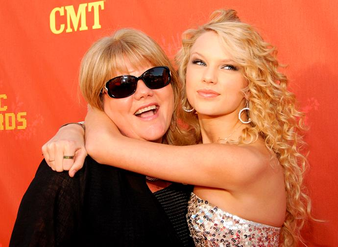 "Taylor describes her mum as her ""guiding force""."