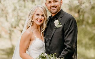 Rebekah Palmer's dreamy summer wedding was a day full of surprises