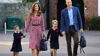 There has been a coronavirus scare at Prince George and Princess Charlotte's school in London