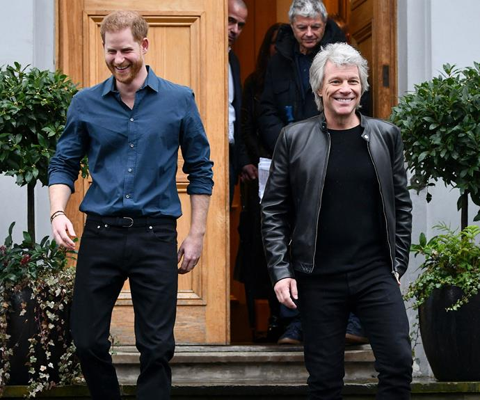 Bon Jovi says he completely understands Harry and Meghan's desire to protect their family's privacy. *(Image: Getty)*