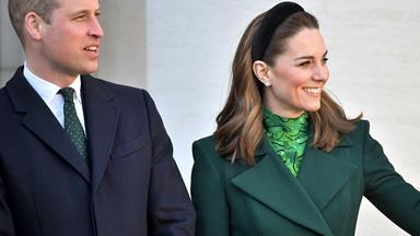 Duchess Catherine and Prince William kick off their royal tour of Ireland