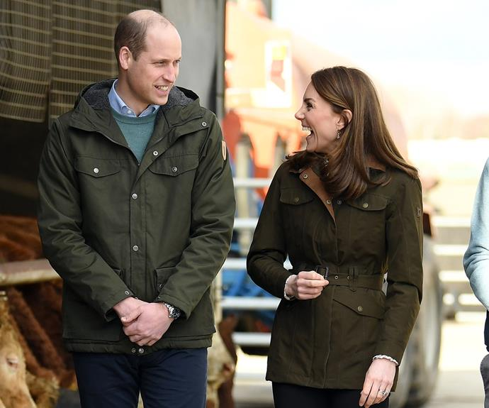 William and Catherine are currently in Ireland for a whirlwind three-day tour. *(Image: Getty)*