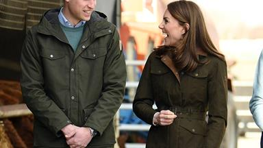 Prince William jokes about the one goal he has before he leaves Ireland