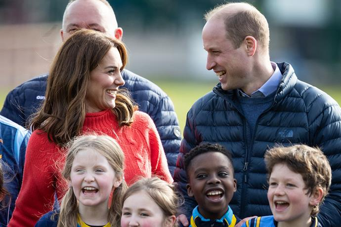 On their final day in Ireland the Cambridge's revealed the new hobbies Prince George and Princess Charlotte having taken an interest in. *(Image: Getty)*
