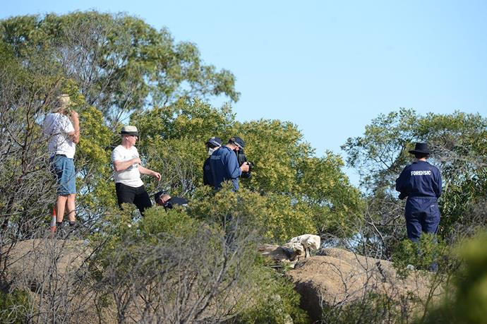 Torsten Trabert received a discount in sentencing for leading police to Wayne Amey's body, wedged between boulders at Victoria's Mt Korong.