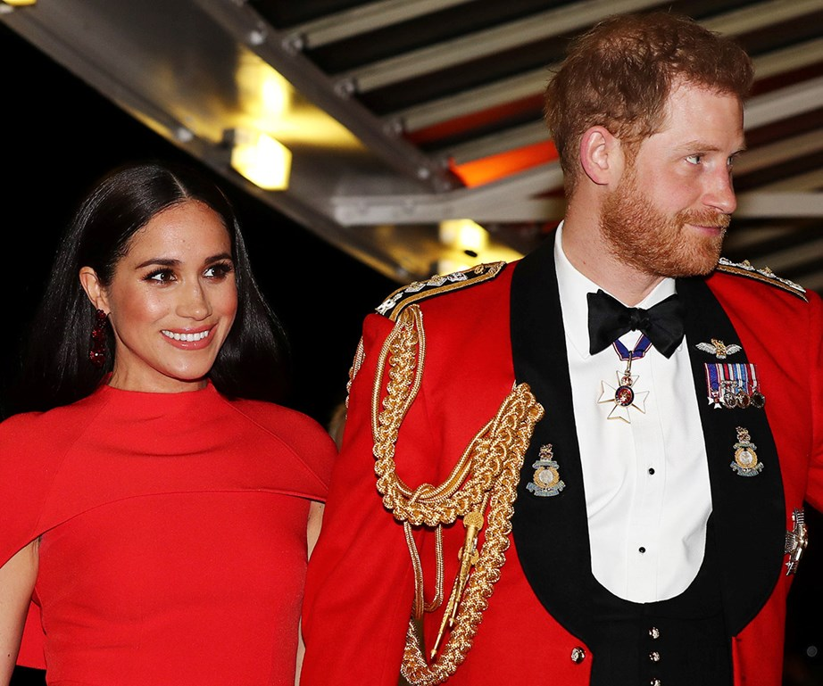 Harry and Meghan completed a string of engagements in the UK before they officially step back at the end of March. *(Image: Getty)*