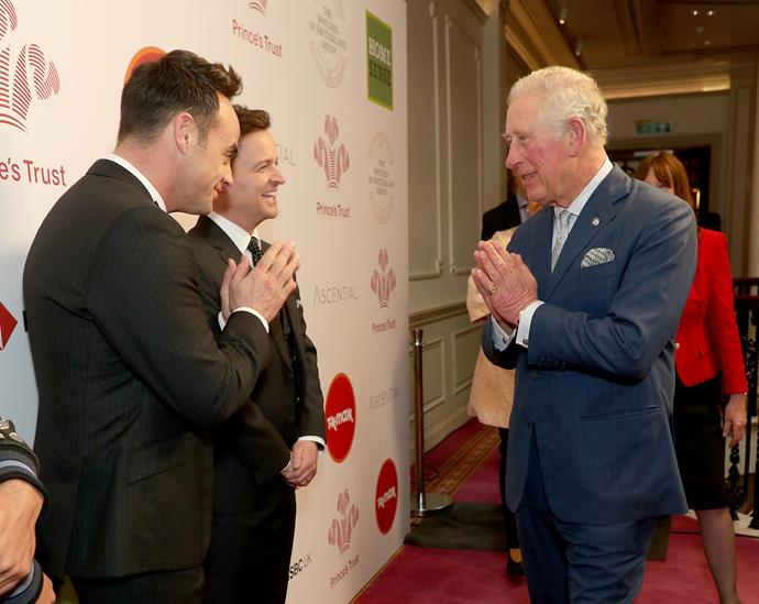Prince Charles has adopted a namaste instead of a handshake to minimise physical contact. *(Image: Getty)*