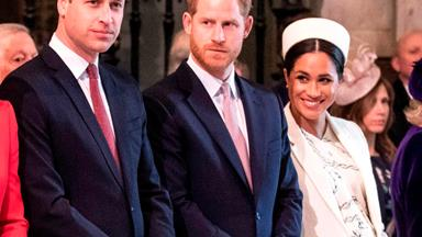 Prince William, Prince Harry and Duchess Meghan share their thoughts about the Covid-19 pandemic