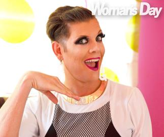 Former Woman's Day Deputy Editor Sebastian van der Zwan's fierce drag queen makeover