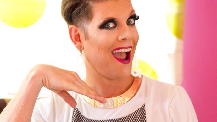 Former Woman's Day Deputy Editor Sebastian van der Zwan's fierce drag queen makeover