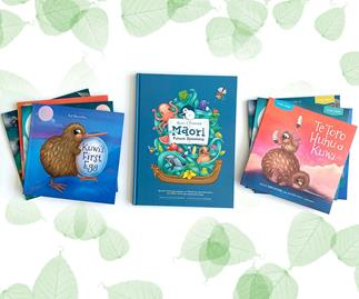 Win a Māori Picture Dictionary and a set of Kuwi the Kiwi books in both English and Māori