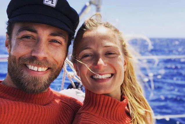 James Middleton has been forced to put his wedding to fiancée Alizee Thevenet on hold